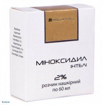 Миноксидил Интели раствор 2 % 60 мл