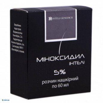 Миноксидил Интели раствор 5 % 60 мл