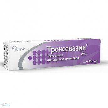 Троксевазин гель  2 % 40 г