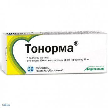 Тонорма таблетки №30