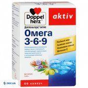 Препарат: Доппельгерц Актив Омега 3-6-9 капсулы №60