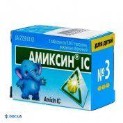 Препарат: Амиксин IC таблетки 0,06г №3