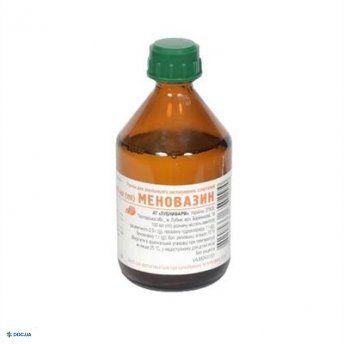 Меновазин раствор 40мл Лубныфарм